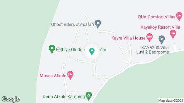 Köy Ardı Evi konumu