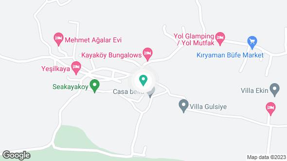Villa Ege konumu