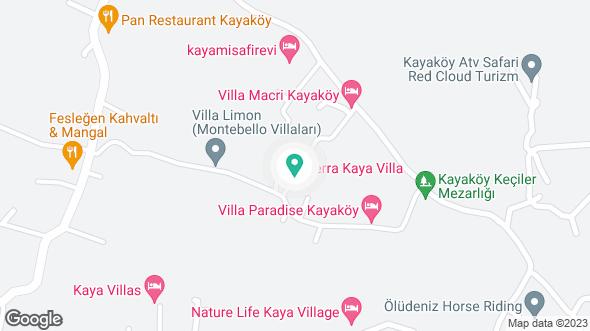Villa Ares konumu