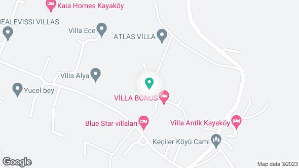 Villa Cazibe konumu