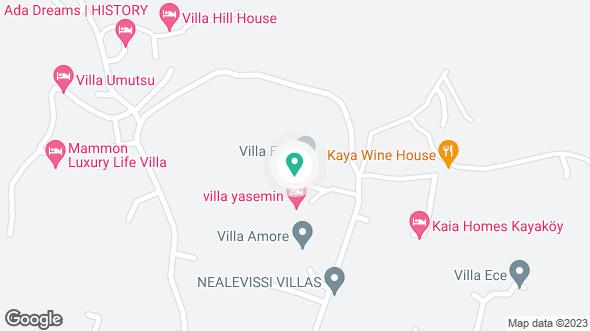 Villa Meltem konumu