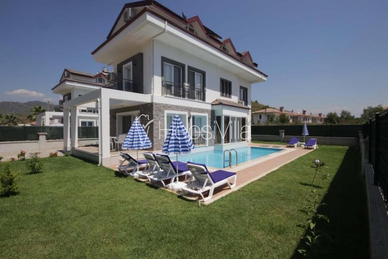 Anka 2 Fethiyede 4 Yatak Odalı Denize Yakın Konumda Kiralık Villa - Hepsi Villa