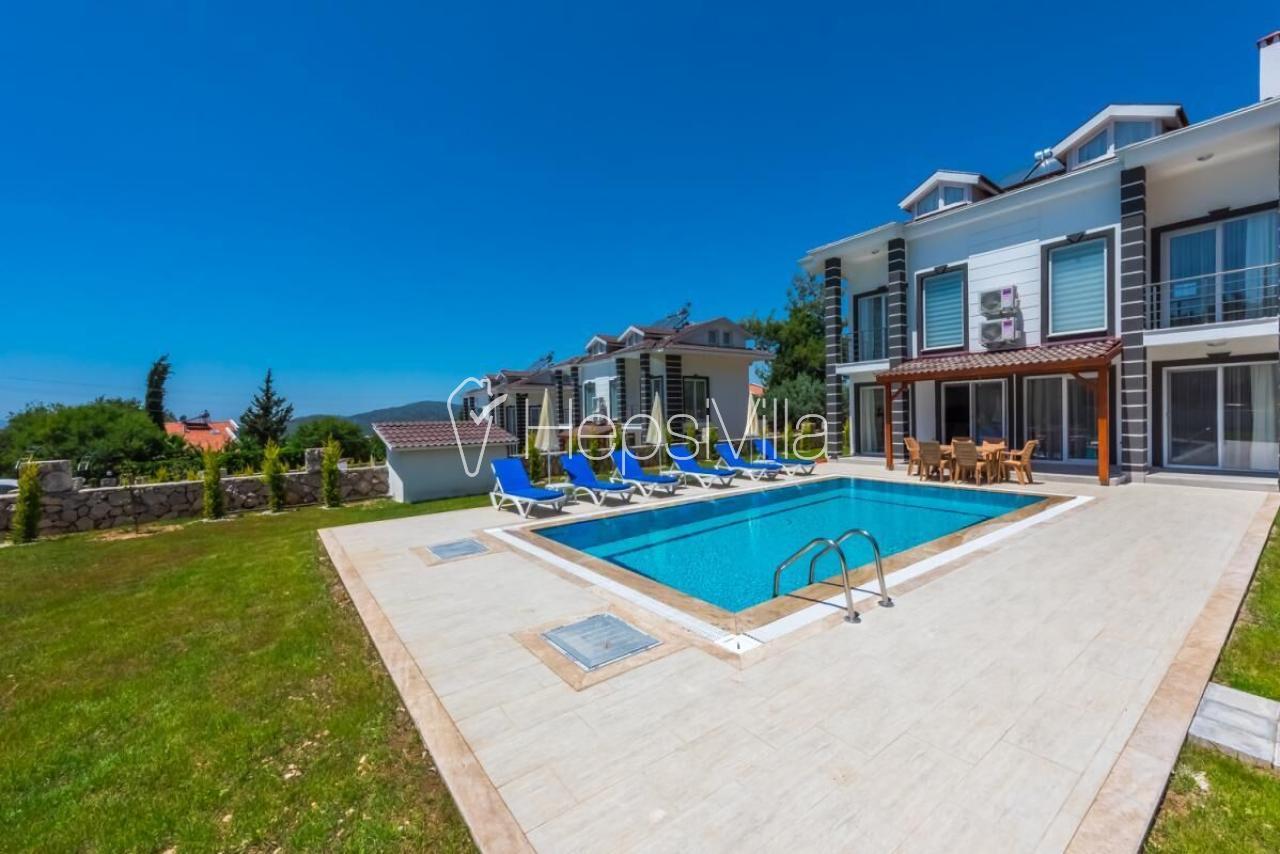 Villa Aras C, Ölüdeniz'de Ovacıkta 4 Odalı Kiralık Yazlık Villa. - Hepsi Villa