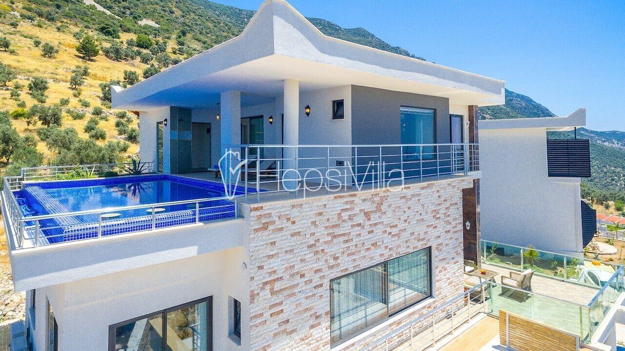Villa Excellence,Kalabalık Ailelere Uygun Lüks Korunaklı Villa - Hepsi Villa