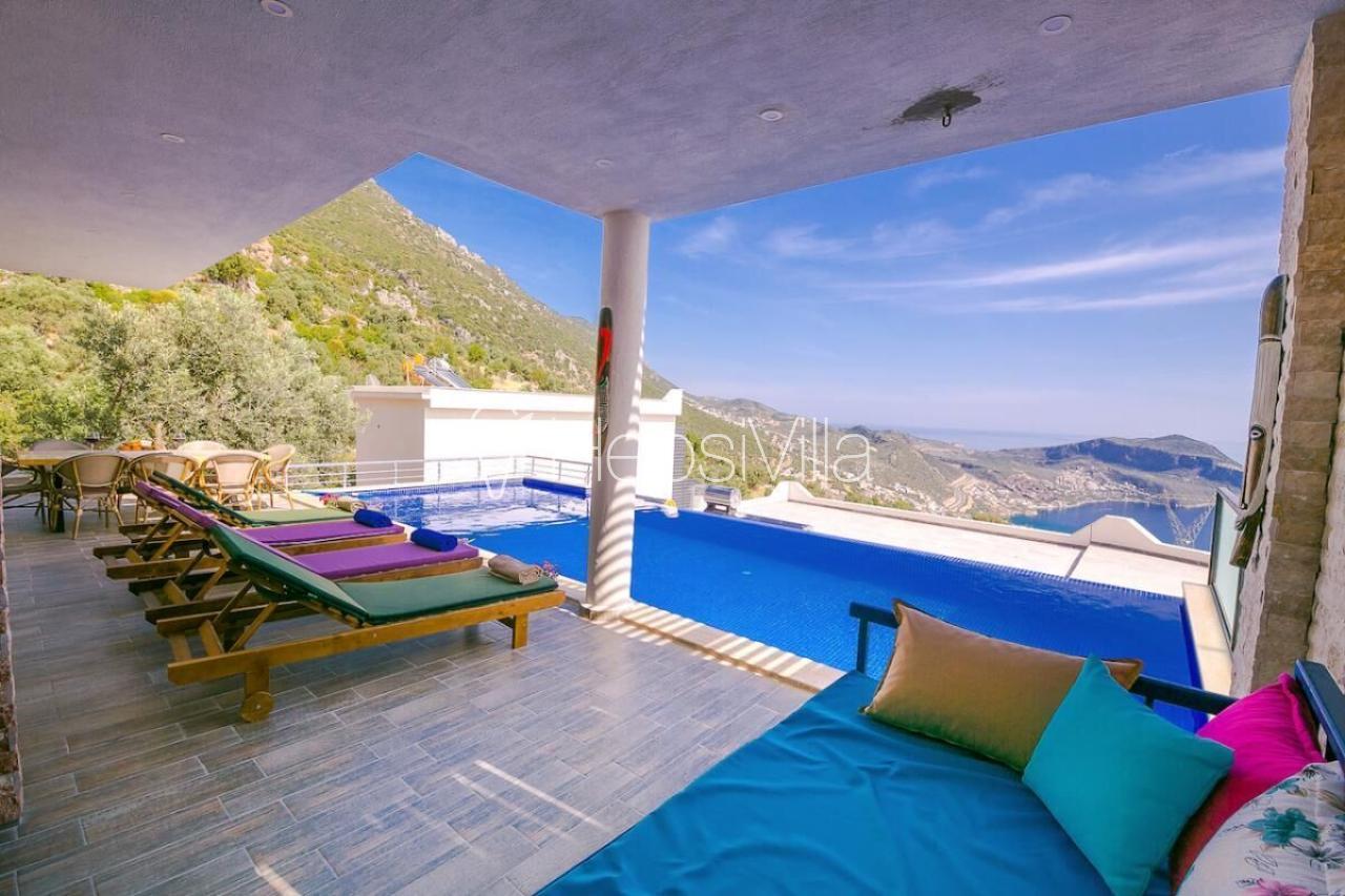 Villa Premium, Akbel Mevkiinde Konumlanmış Lük Korunaklı Villa - Hepsi Villa