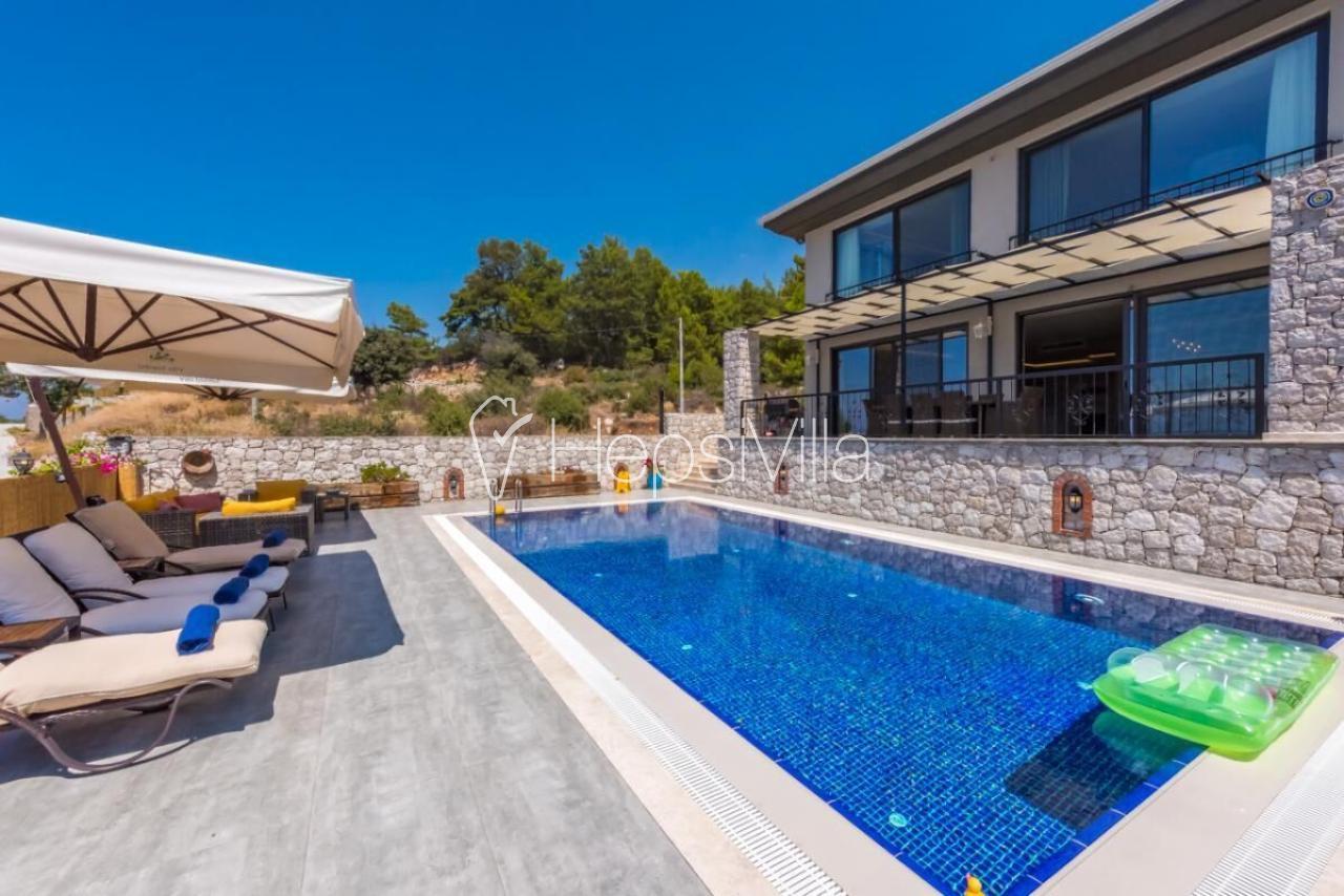 Ölüdeniz Faralya'da eşsiz deniz manzaralı ultra lüks villa - Hepsi Villa