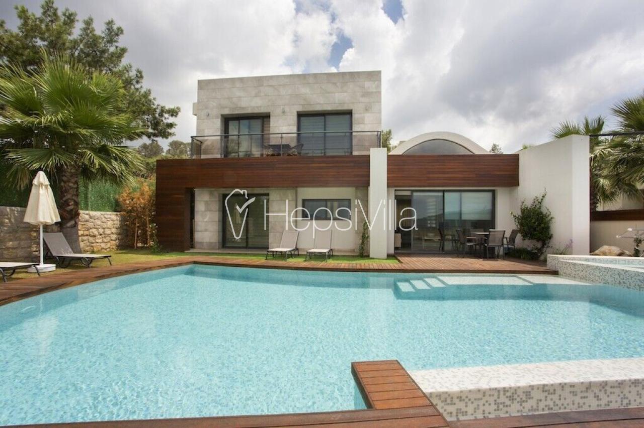 Sierra Premium Bodrum'de 3 Yatak Odalı özel havuzlu villa - Hepsi Villa