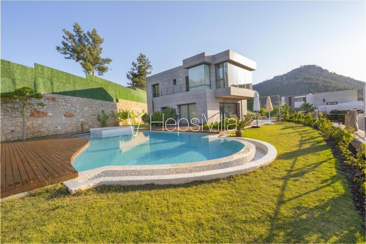 Sierra Delüxe Bodrum'de 4 Yatak Odalı özel havuzlu villa - Hepsi Villa