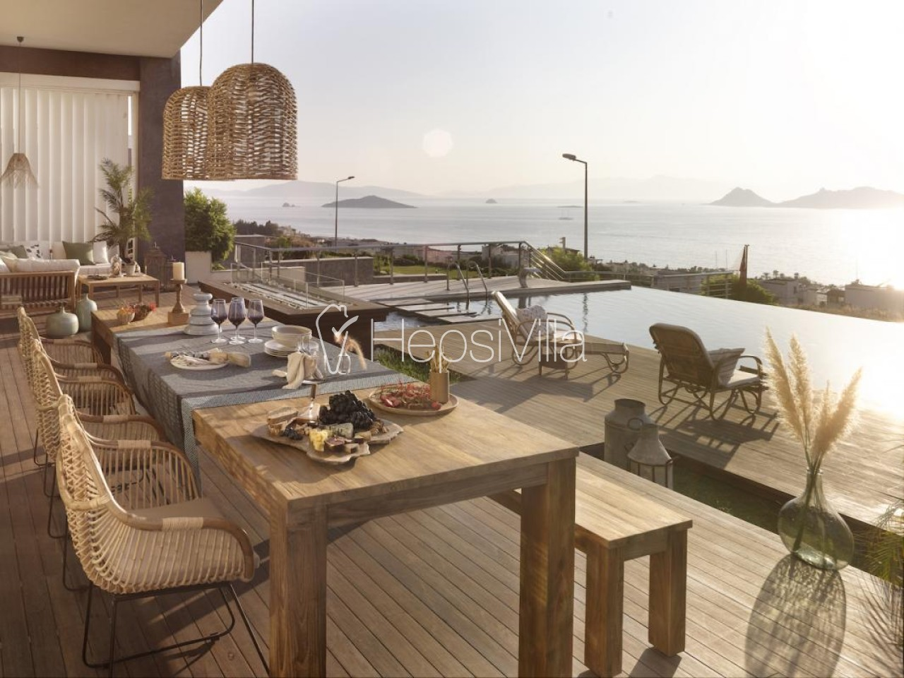 Villa Marin Hill Bodrum Turgutreis'te ultra lüks kiralık villa - Hepsi Villa