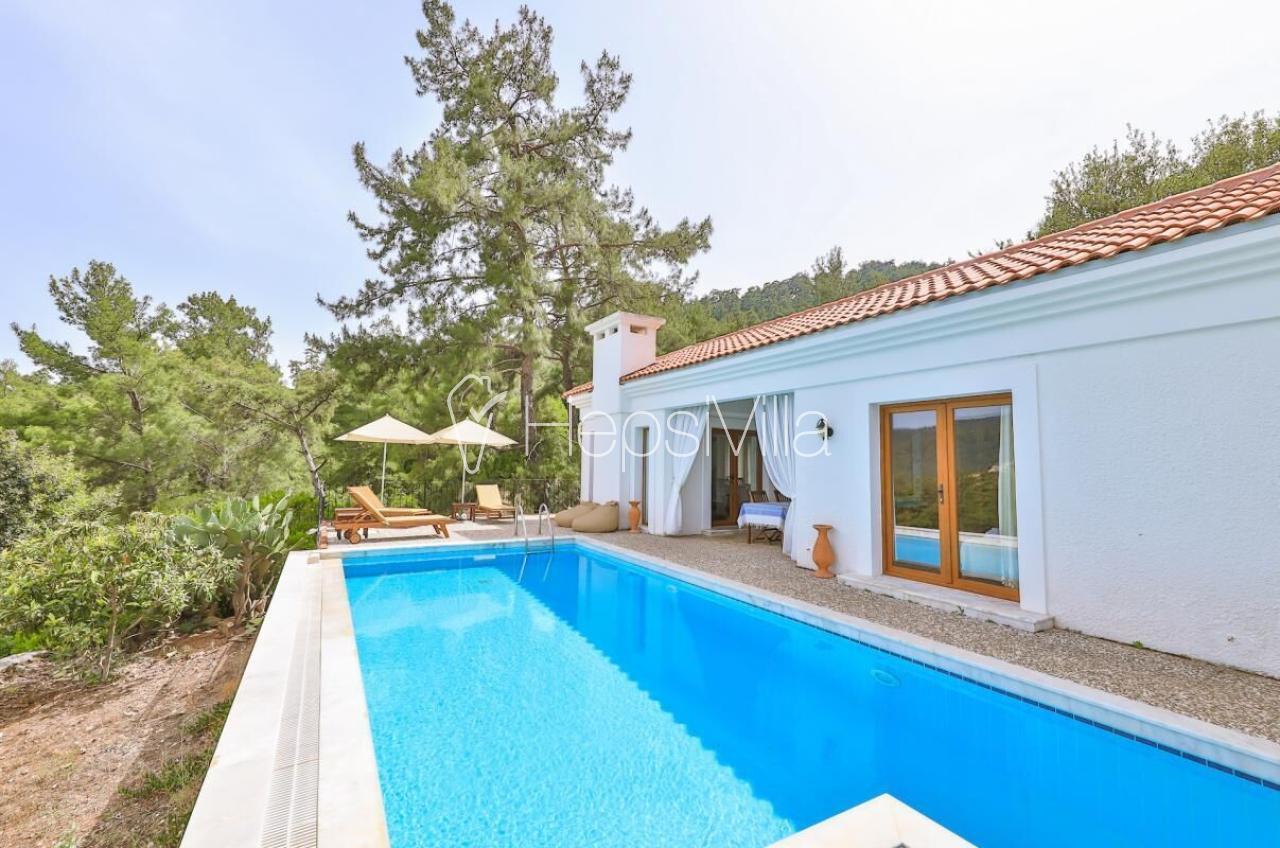 Villa Fig Tree, Marmaris Gökbel'de Bulunan 2 Yatak Odalı Villa - Hepsi Villa