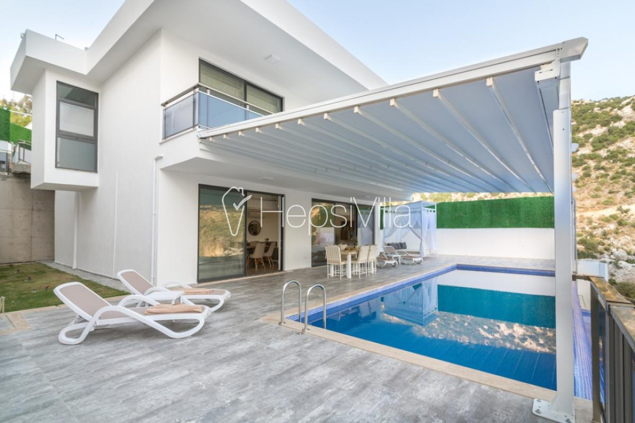 Villa İnfinity Mountain, 4 Kişilik Lüks Jakuzili, Saunalı Villa - Hepsi Villa