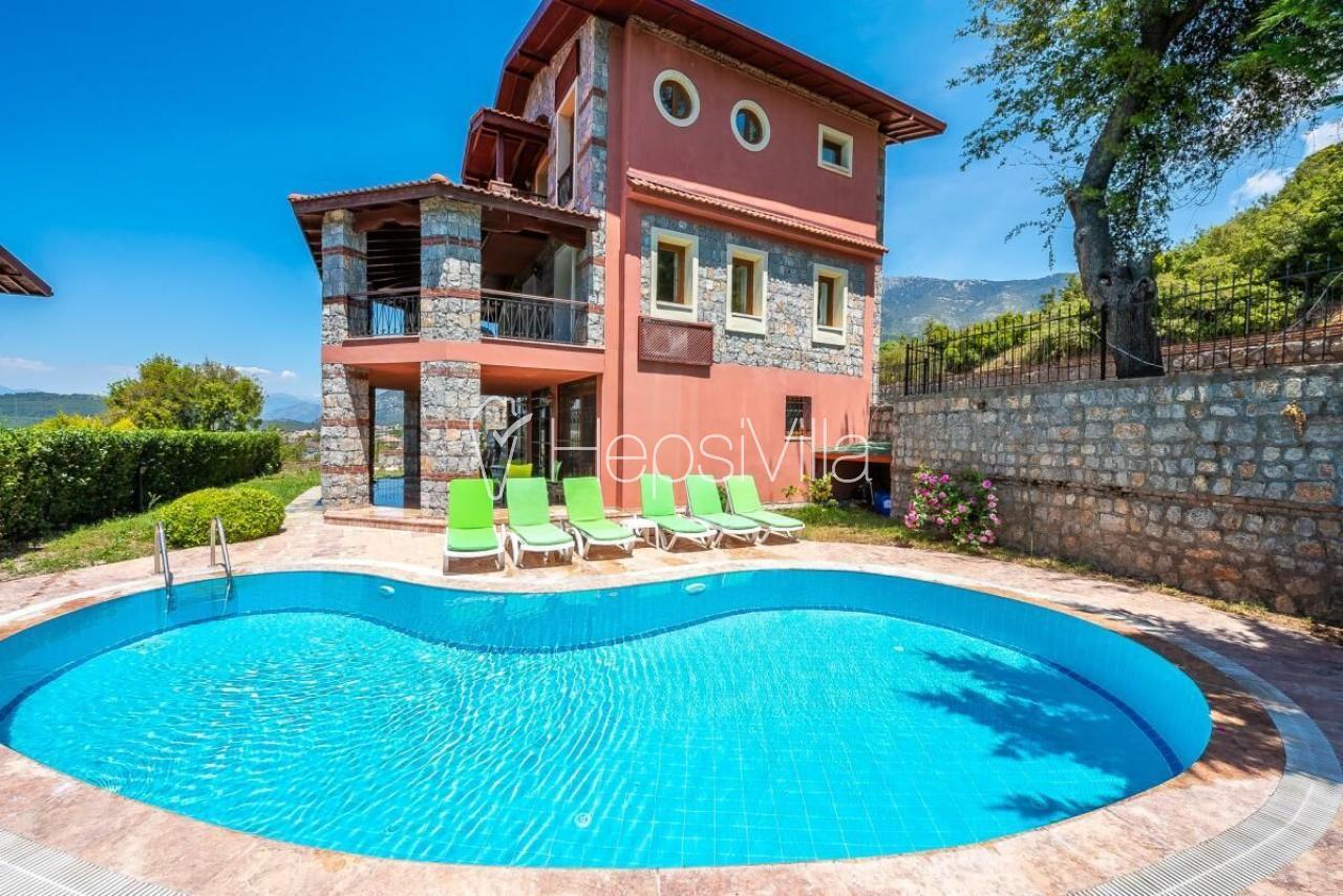 Fethiye Ölüdeniz-Ovacık'ta bulunan havuzlu villa - Hepsi Villa