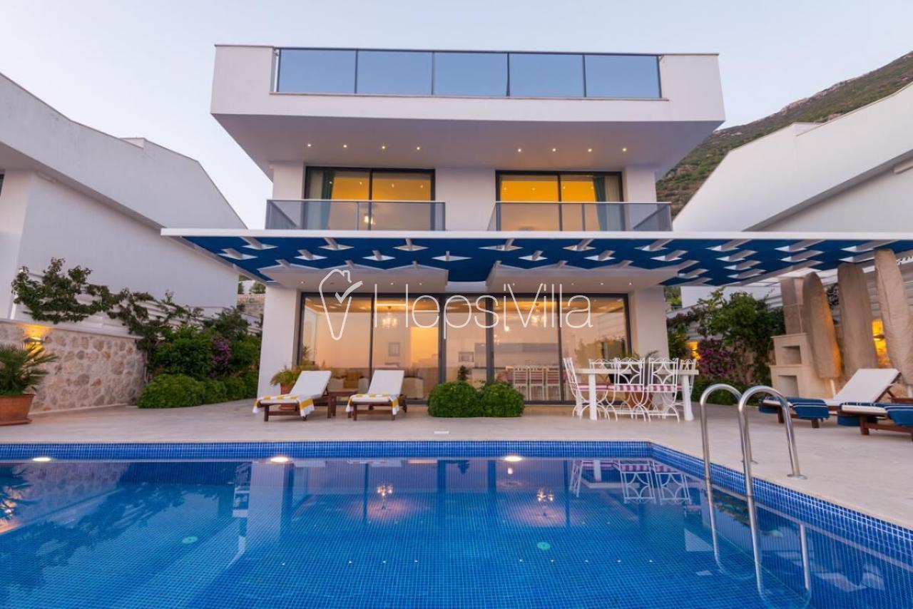Villa Moana Kalkan/Kızıltaş Lüks Deniz Manzaralı Müstakil Villa - Hepsi Villa