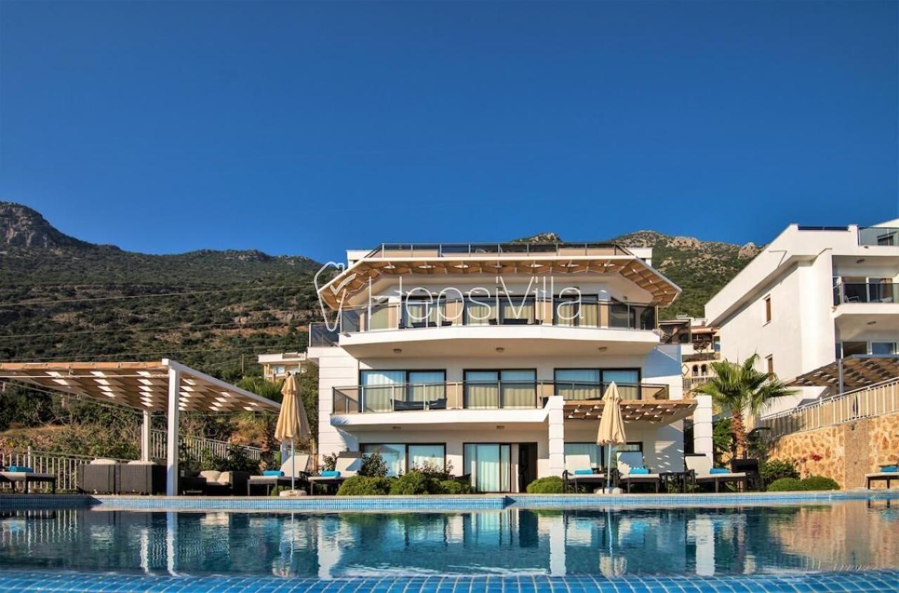 Villa Falcon Lodge,Kalkan Kızıltaş'ta Bulunan Lüks Mazaralı Villa - Hepsi Villa