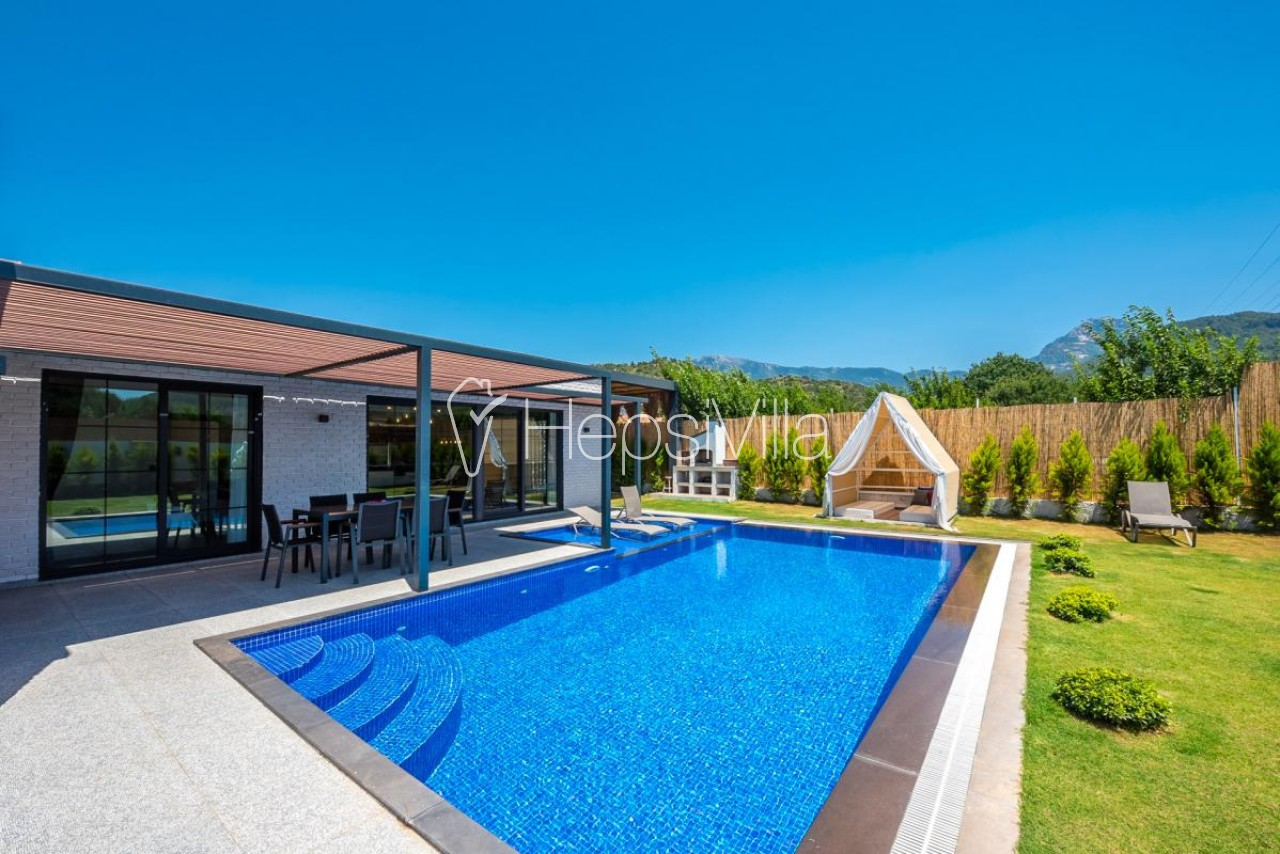 Villa Defne, Kayaköy'de 2 Odalı Jakuzili Lüks Villa. - Hepsi Villa