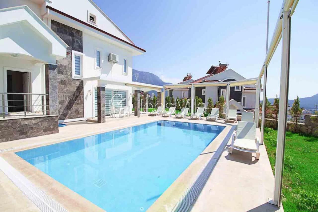 Villa Mendos, Fethiye Ovacık'ta Bulunan 8 Kişilik Korunaklı Villa - Hepsi Villa