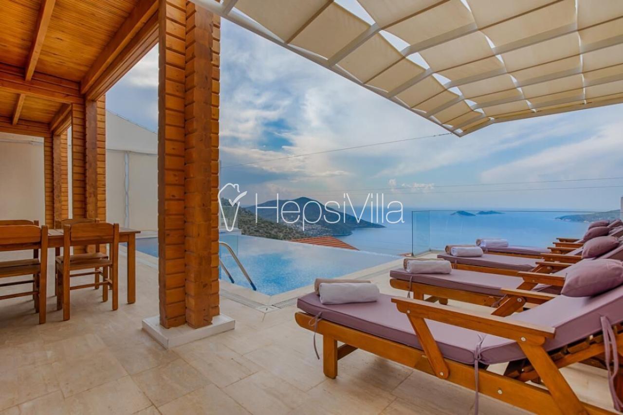 Villa Mimoza, Kalkan Kızıltaş mevkiinde Konumlu Tatil Villası - Hepsi Villa