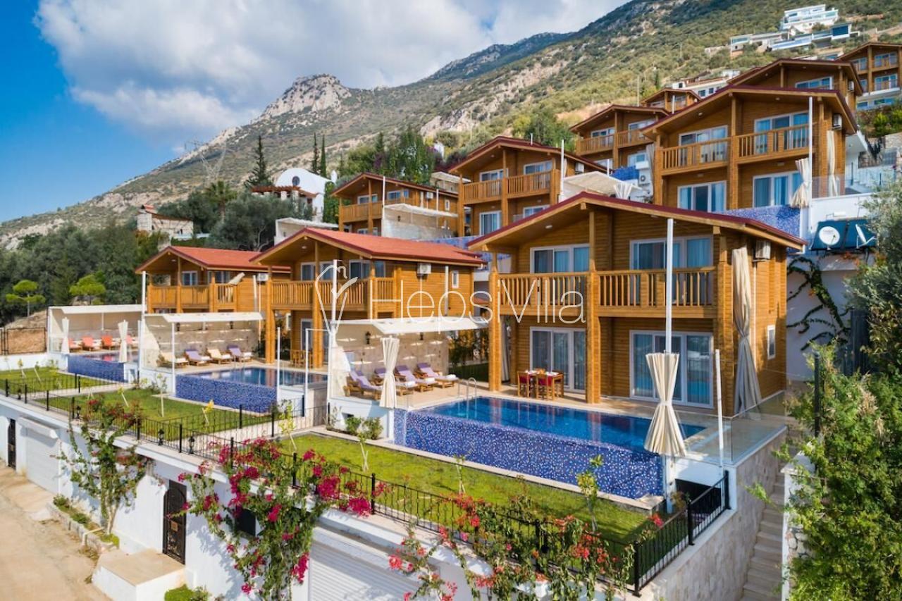 Villa Yasemin Duo, Kalkan Kızıltaş'ta Konumlu Tatil Villası - Hepsi Villa