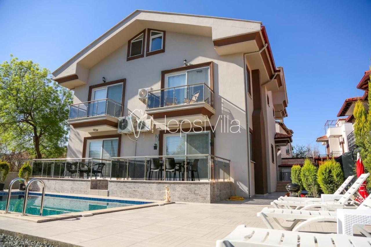 Villa Central, Dalyan Merkez'de Yer Alan 6 Kişilik Müstakil Villa - Hepsi Villa