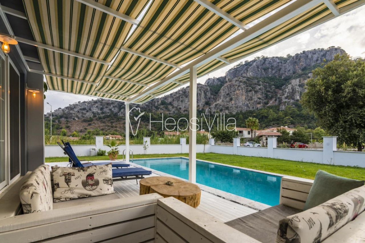 Villa Calypso, Dalyan Merkez'de Yer Alan 8 Kişilik Otantik Villa - Hepsi Villa