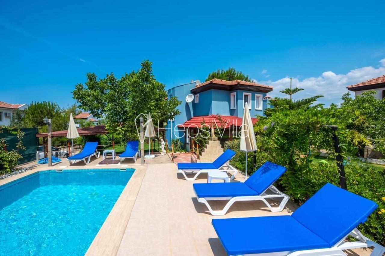 Villa Şans; Fethiye Hisarönü'nde 3 Yatak Odalı Kiralık Villa - Hepsi Villa