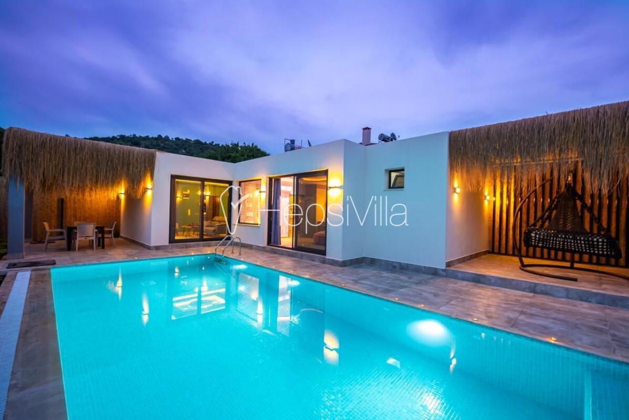 Villa Romantik, Kayaköy'de 1 Yatak Odalı Balayı tatil villası - Hepsi Villa