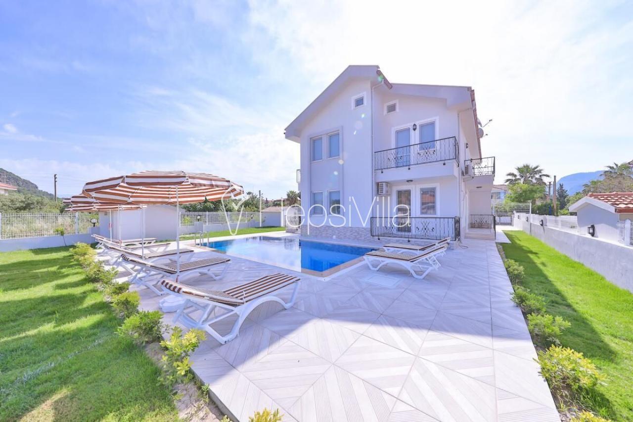 Villa Twins Minta, Dalyan konumlu 8 kişilik Tatil Villası - Hepsi Villa