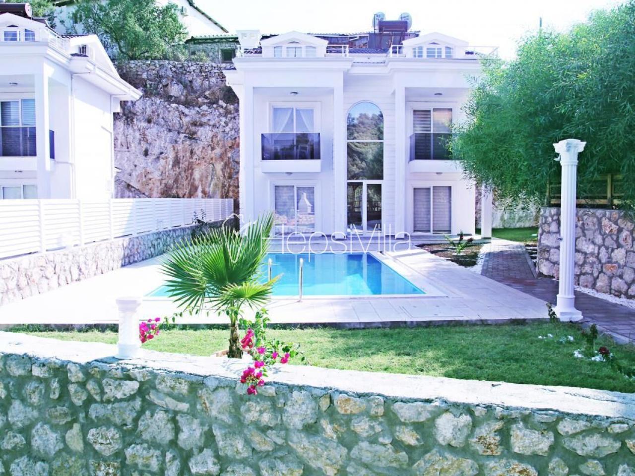 Villa Zirkon, Fethiye Hisarönü'nde 8 kişilik Özel Havuzlu Villa - Hepsi Villa