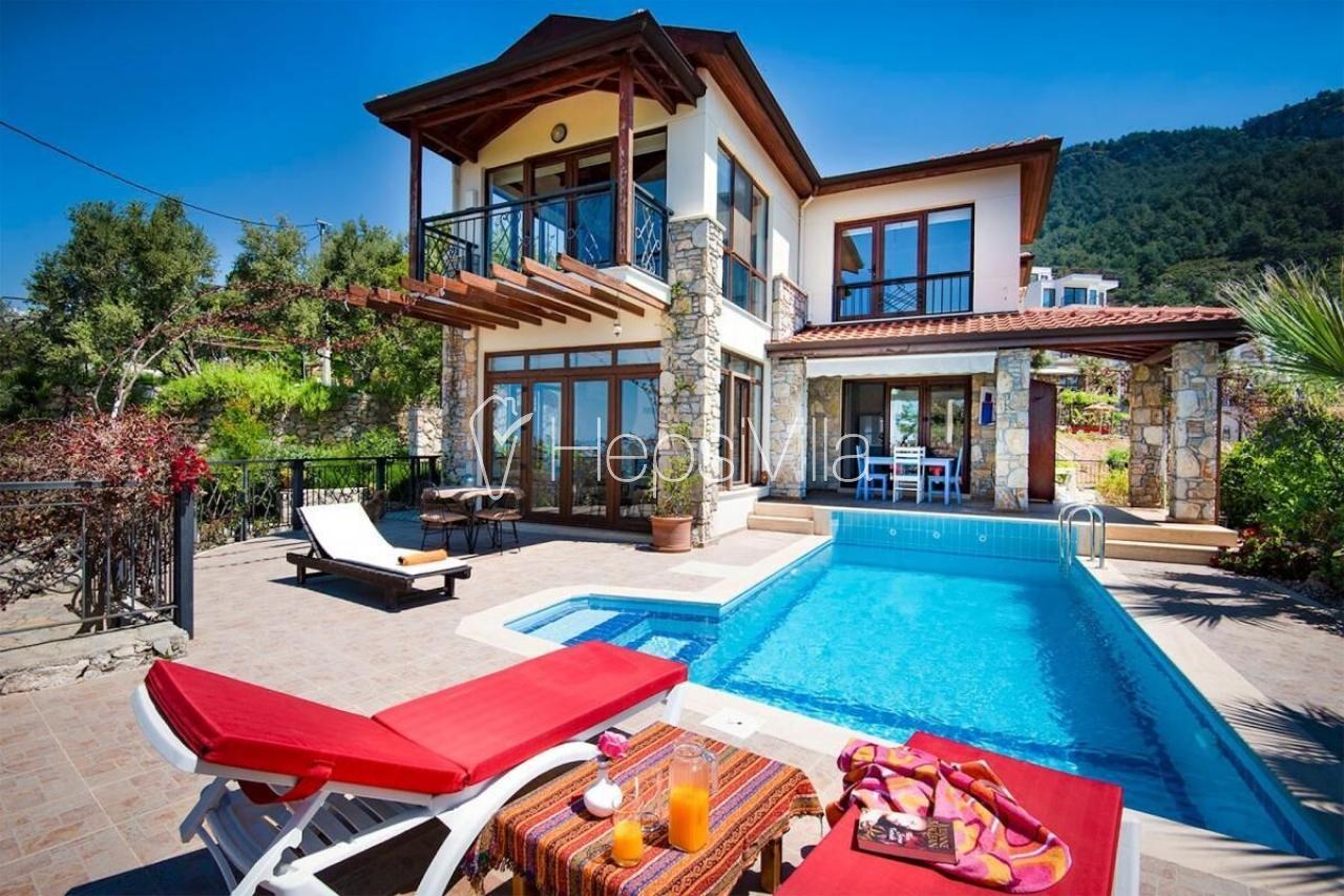 Villa Ravilya, Fethiye-Faralya Mevkiinde Konumlu Tatil Villası - Hepsi Villa