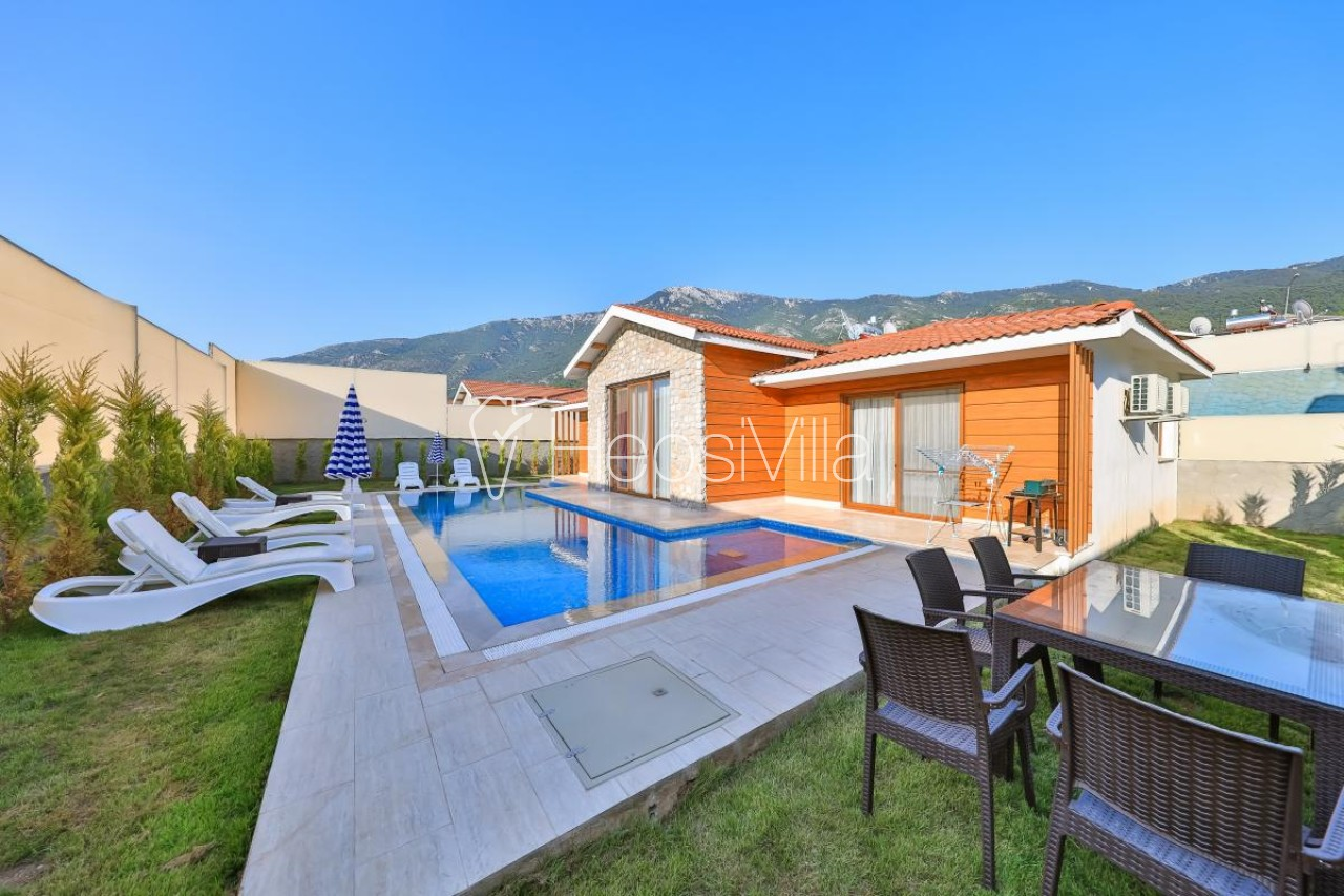 Villa Tlos Delüks, Fethiye Hisarönü'nde 6 Kişilik Özel Villa - Hepsi Villa