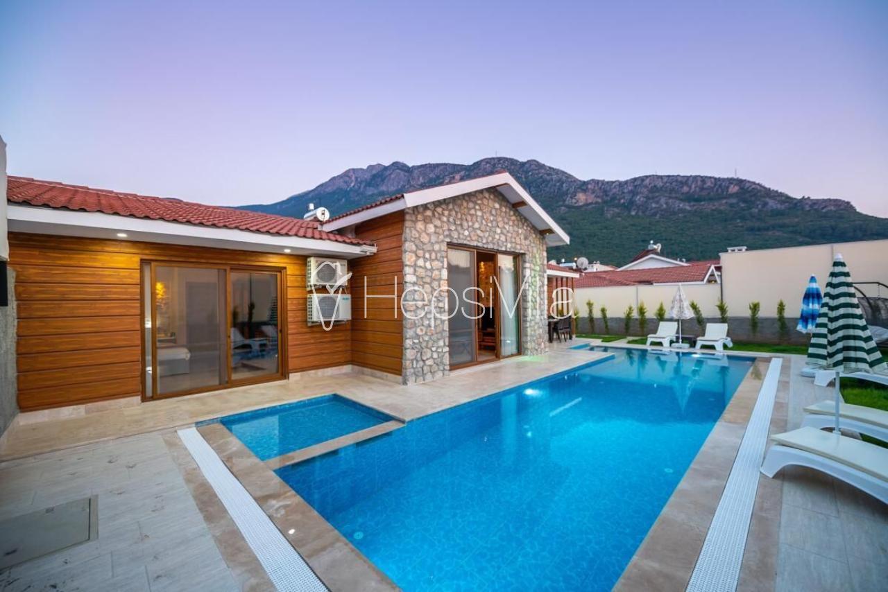Villa Tlos 1, Fethiye Hisarönü'nde 6 Kişilik Özel Villa - Hepsi Villa