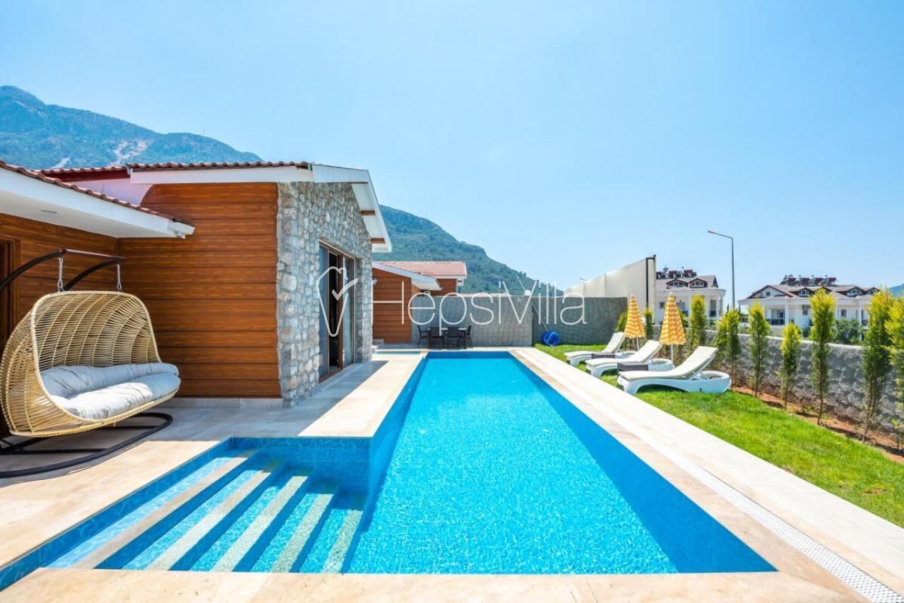 Villa Tlos 4, Fethiye Hisarönü'nde 6 Kişilik Özel Villa - Hepsi Villa
