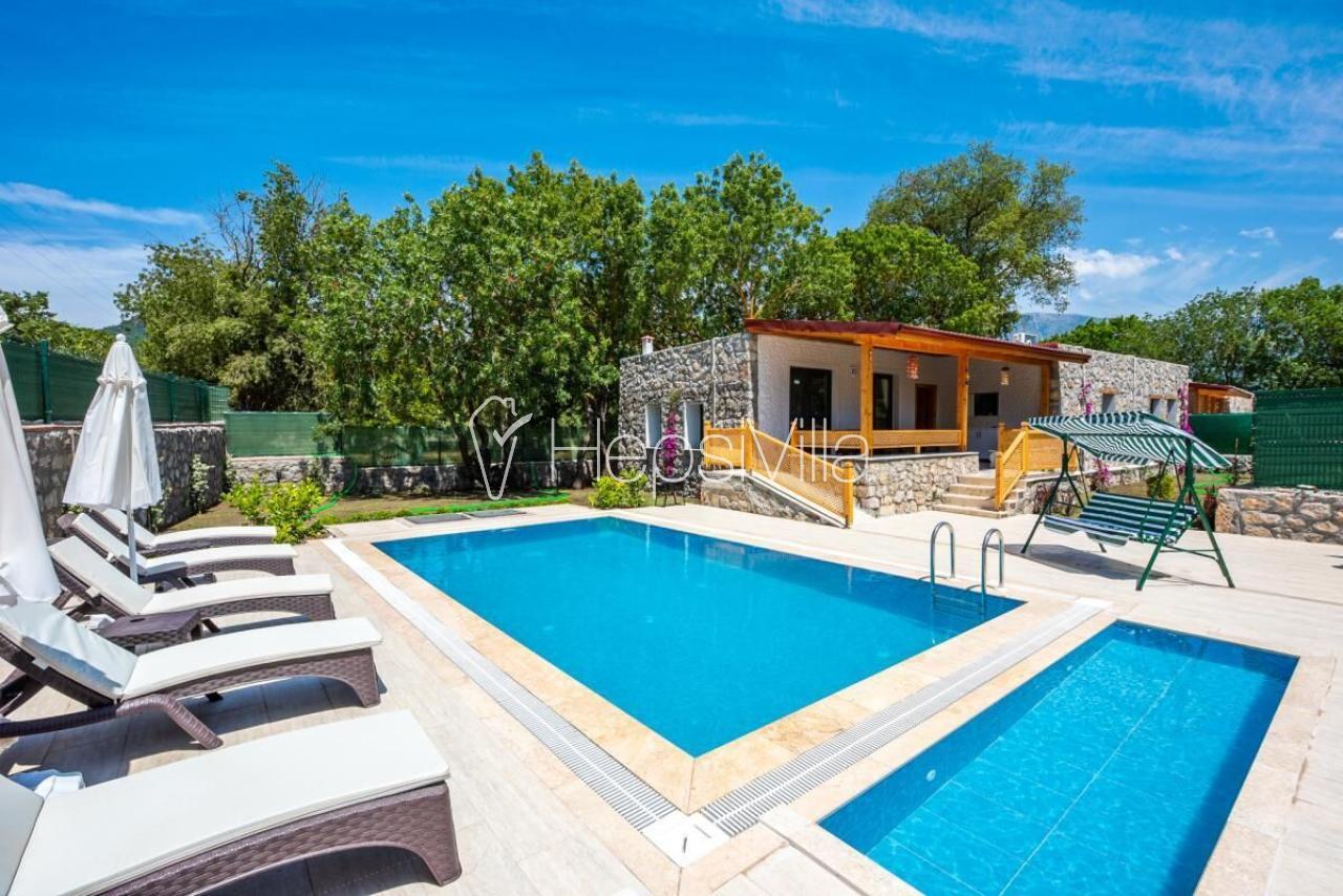 Villa Marcan, Fethiye Kayaköy'de 8 Kişilik Özel Havuzlu Villa - Hepsi Villa