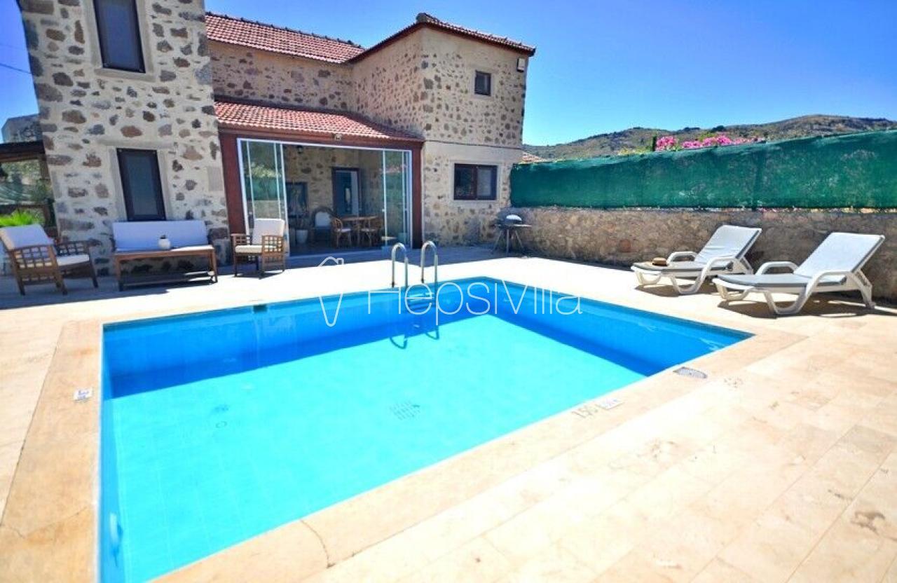 Villa Taş Evi, Bodrum Bitez'de 6 kişilik Özel Havuzlu Villa - Hepsi Villa