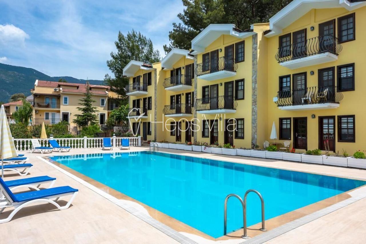 Hisar Aparts A, Fethiye Hisarönü'de 4 Kişilik Apart Daireler - Hepsi Villa