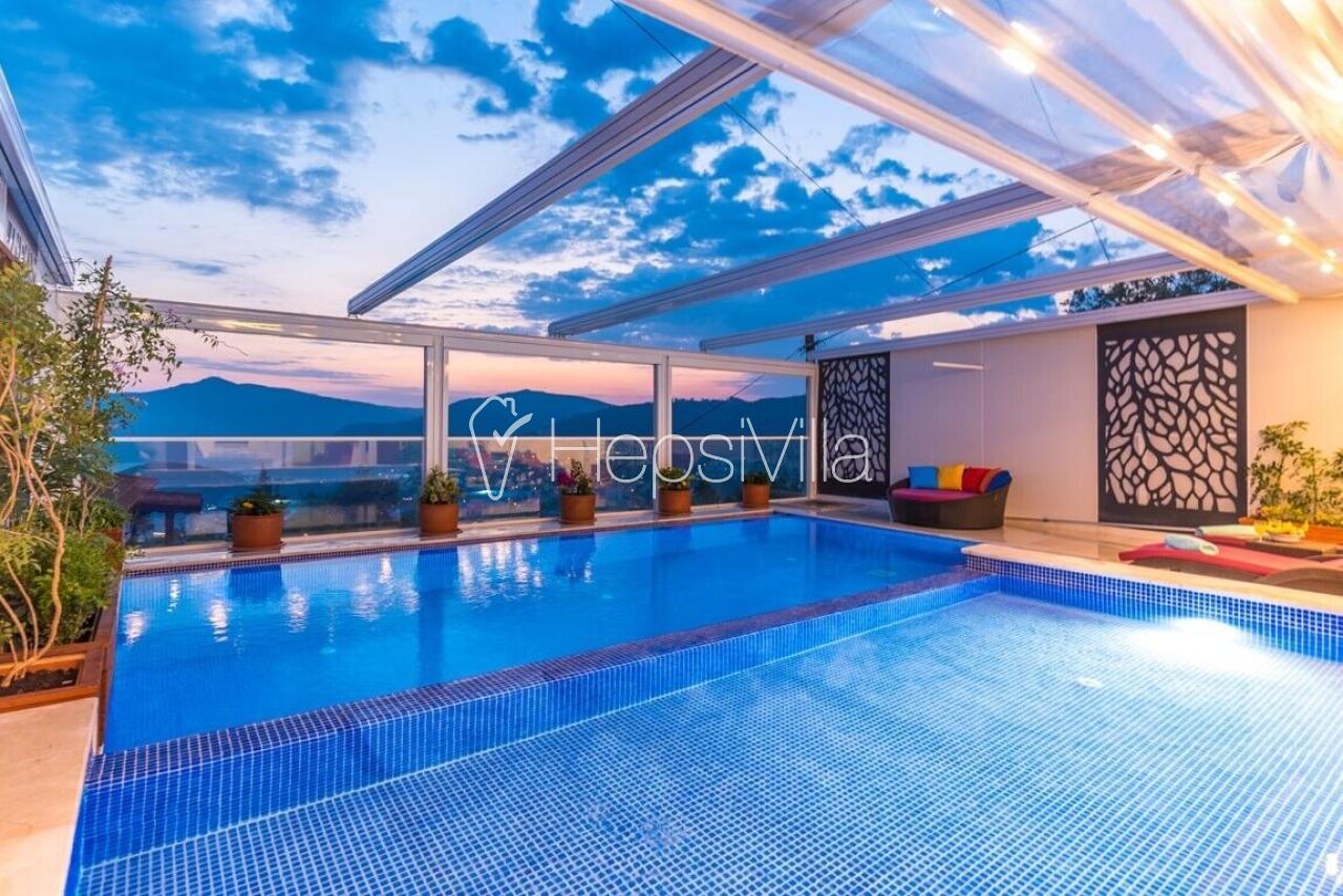 Villa Sude, Kalkan Kördere'de Deniz Manzaralı 4 Kişilik Villa - Hepsi Villa
