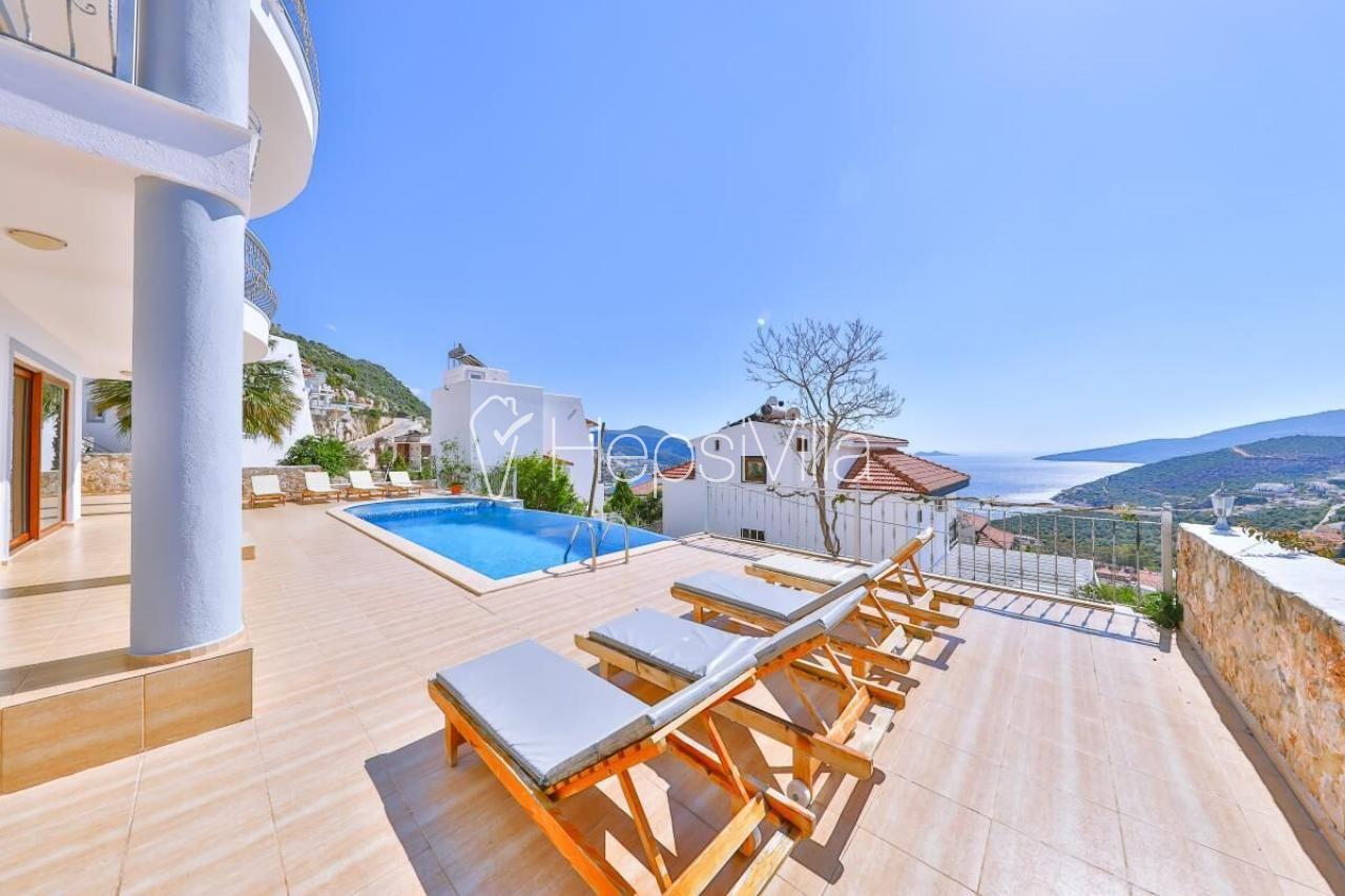 Villa Sedef Duo,Kalkan Merkez'de Bulunan 8 Kişilik Müstakil Villa - Hepsi Villa