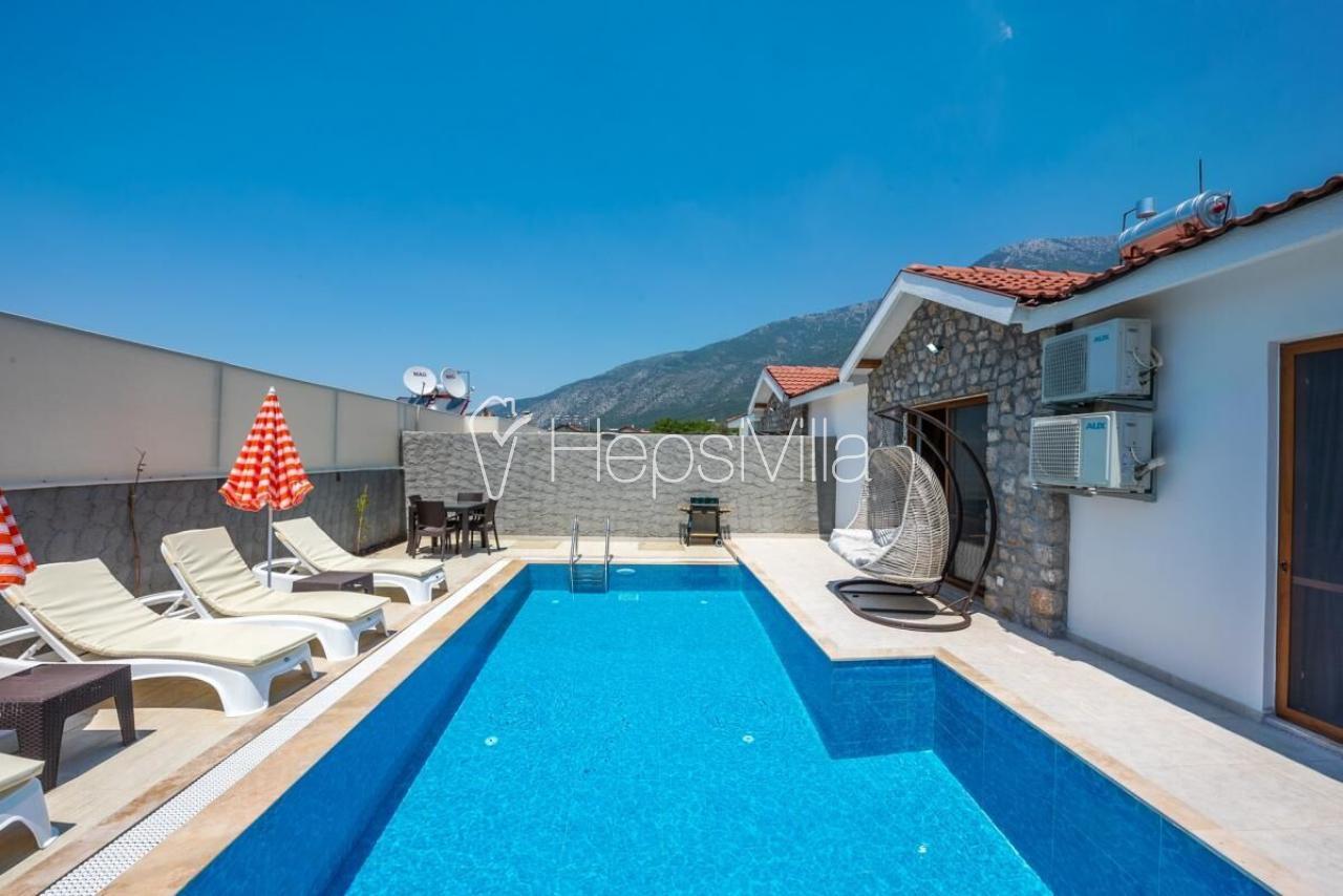 Likya Suite A, Fethiye-Hisarönü'nde Konumlu Tatil Villası - Hepsi Villa