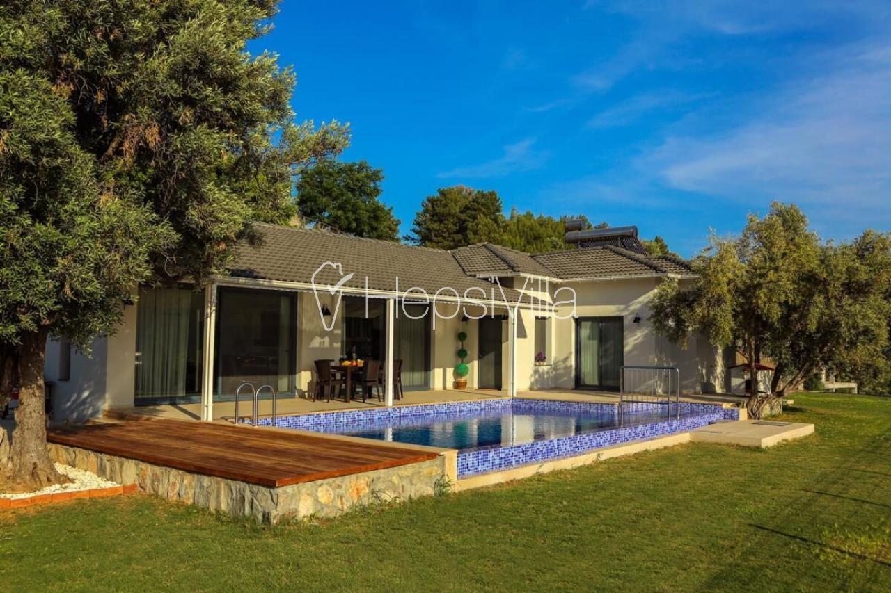 Villa Tranquility, Dalyan Gökbelde İztuzu Plajı Manzaralı 6 Kişil - Hepsi Villa