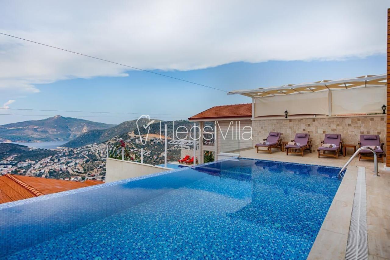 Villa Nergiz Duo, Kalkan-Kızıltaş Mevkiinde Konumlu Tatil Villası - Hepsi Villa