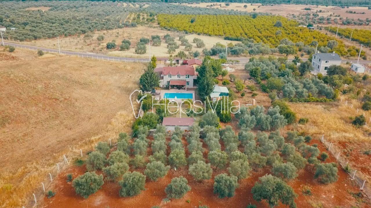 Villa Flower, Antalya Kepez'de Özel havuzlu, Saunalı Villa - Hepsi Villa