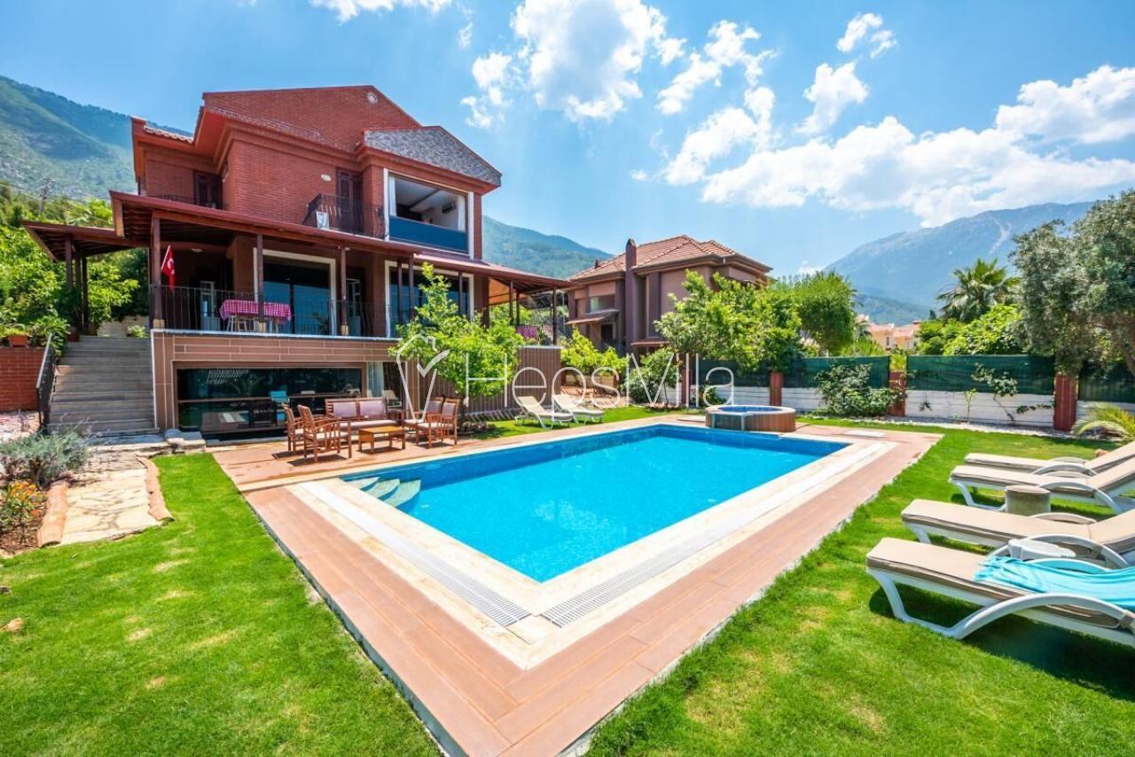 Villa Nefes, Fethiye Ocacık'ta 9 Kişilik Özel Havuzlu Villa - Hepsi Villa