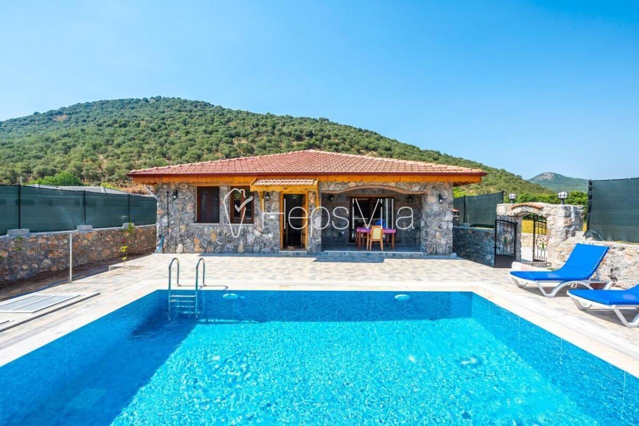 Villa Coco, Fethiye Kayaköy'de 4 Kişilik Muhafazakar Villa - Hepsi Villa