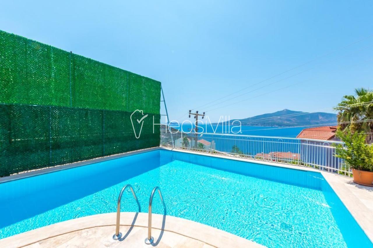 Plaja Yakın 8 Kişilik Harika Manzaralı Yazlık Villa Baysal C - Hepsi Villa
