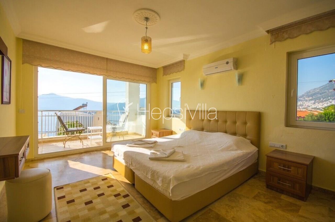 Antalya Kaş Kalkan Tatil İçin Kiralık Yazlık Villa Baysal D - Hepsi Villa
