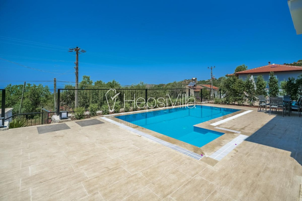 Villa Massi Söğüt, Marmaris Söğüt'te 6 Kişilik Özel Havuzlu Villa - Hepsi Villa