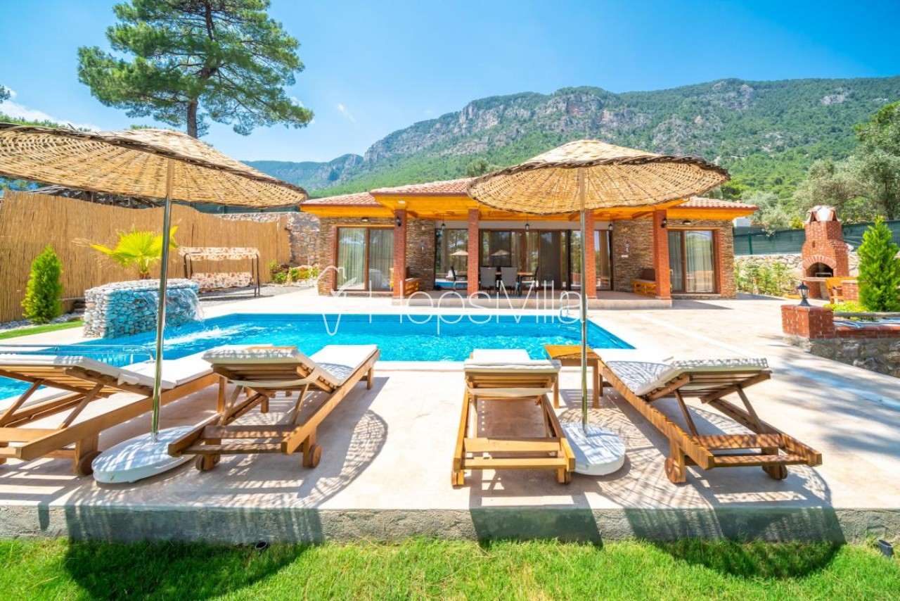 Villa Emir Akyaka, Muğla Akyaka'da 4 Kişilik Özel Havuzlu Villa - Hepsi Villa