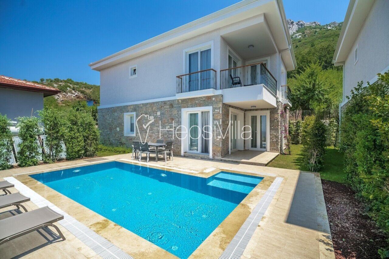 Villa Massi Söğüt 2, Marmaris Söğüt'te 6 Kişilik Özel Villa - Hepsi Villa