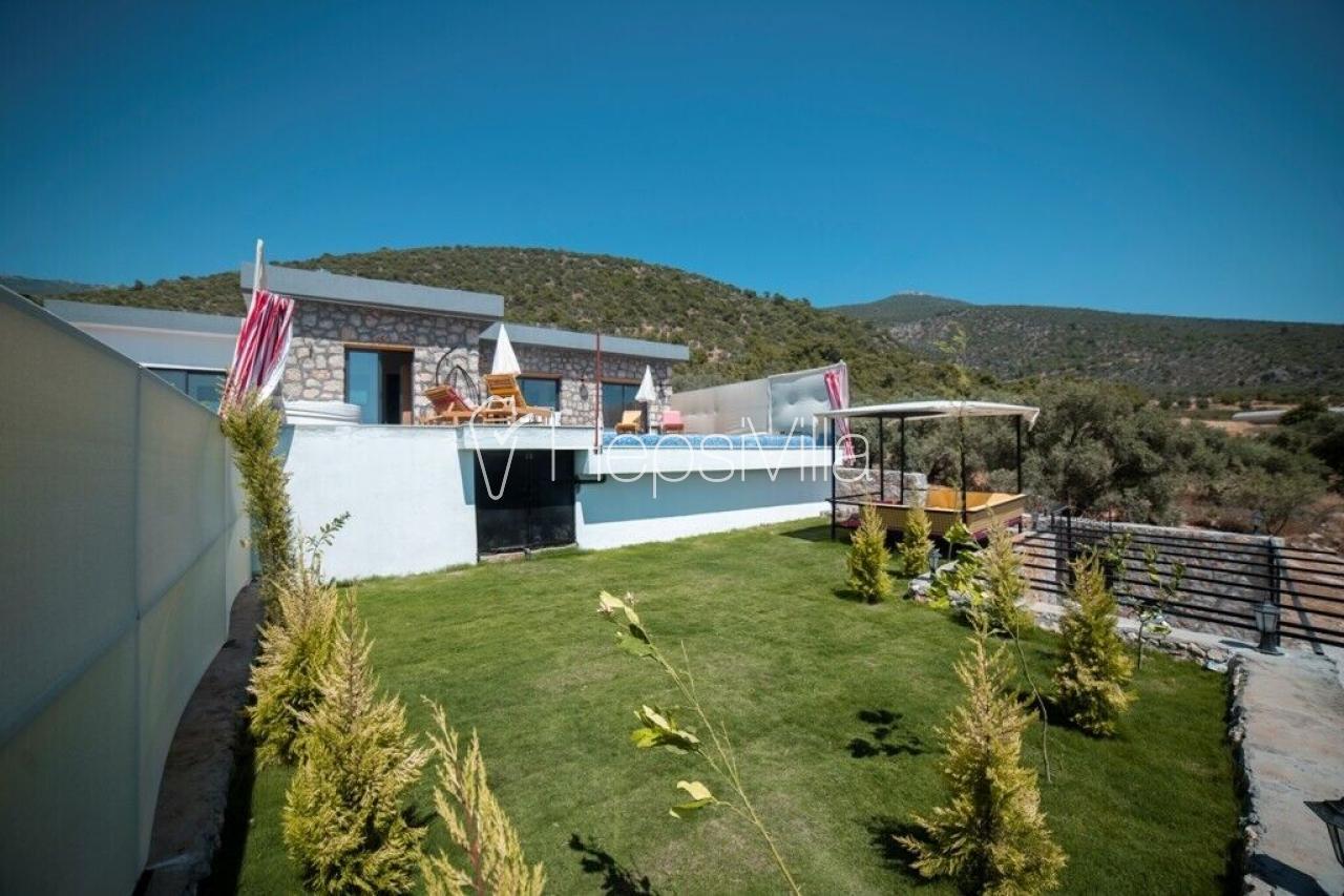 Villa Fidan 2, Kalkan Çavdır'da 2 Odalı Kapalı Havuzlu Villa - Hepsi Villa