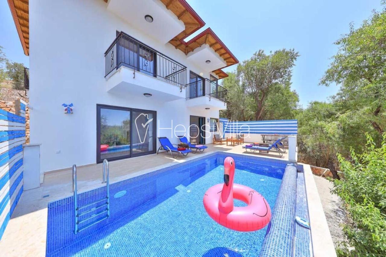 Villa Melek ,Kaş-Çukurbağ Mevkiinde Yer Alan Tatil Villası - Hepsi Villa